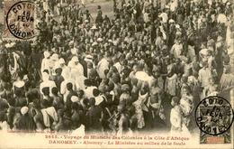 DAHOMEY - Carte Postale - Visite Du Ministre Des Colonies à Abomey - L 53215 - Dahomey