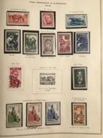 EUROPE ALBUM DE PLUS DE 100 PAGES ALLEMAGNE SARRE BULGARIE RUSSIE SUISSE - Collections (en Albums)
