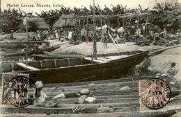 DAHOMEY - Carte Postale - Marché Des Pirogues à Abomey - L 53216 - Dahomey