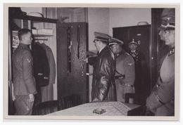 DT- Reich Propaganda Sammelbild (003801) Adolf Hitler Bild 188, Adolf Hitler Besucht Seine Leibstandarte Neben D. Führer - Alemania