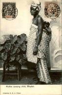 DAHOMEY - Carte Postale - Mother Carrying Child , Whydah - L 53220 - Dahomey