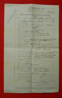 1912 Major Vermeulen Artillerie De Forteresse D'Anvers Proposition D'avancement Lieutenant Colonel Ragondit Belgique - Documents
