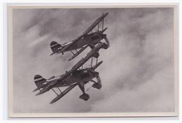 DT- Reich Propaganda Sammelbild (003810) Adolf Hitler Bild 152, Unsere Luftwaffe - Alemania
