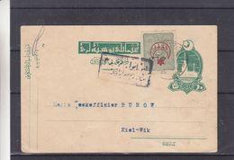 Turquie - Carte Postale De 1916 - Entier Postal - Oblit  ? - Exp Vers Kiel Wik - 1858-1921 Empire Ottoman
