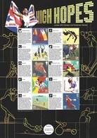 Gran Bretagna, 2011 Olimpiadi Di Londra 2012 Smiler Commemorativo N° 15 Con Custodia,  Perfetto - Personalisierte Briefmarken