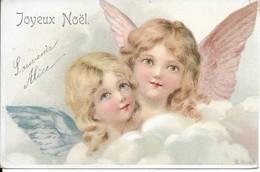 Carte Anges     Joyeux Noél - Angeli