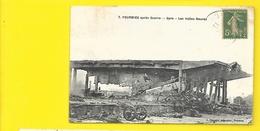 FOURMIES Rare Gare Les Halles Neuves  Militaria (Bonnaire) Nord (59) - Fourmies