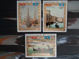 TCHAD 1972 Y&T N° 117 à 119 * - SAUVEGARDE DE VENISE - Tchad (1960-...)