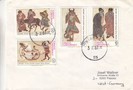 Turquie - Lettre De 1987 - Oblit Sirkeci - - 1921-... République