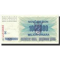 Billet, Bosnia - Herzegovina, 1,000,000 Dinara, 1993, 1993-09-01, KM:35b, SUP - Bosnie-Herzegovine