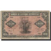 Billet, French West Africa, 100 Francs, 1942, 1942-12-14, KM:31a, TB+ - États D'Afrique De L'Ouest