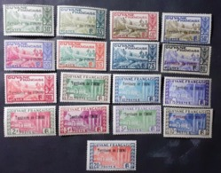 France (ex-colonies & Protectorats) > Inini (1932-1947) > Neufs N° 9/28 **/* - Ungebraucht