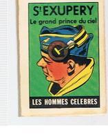 Publicité Micro Livre Offert Par La Maison Du Café Les Hommes Célèbres Saint Exupéry Le Grand Prince Du Ciel - Advertising