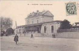 Yonne : AUXERRE : Gare Saint-gervais ( Animation ) - Auxerre