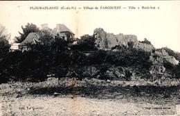 """Carte 1930 PLOUBAZLANEC / VILLAGE DE L'ARCOUEST - VILLA """"ROCH-HAT"""" - Ploubazlanec"""