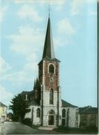 BELGIUM - FONTAINE L'EVEQUE - L'EGLISE -  EDIZ. DE MARIO / YVOIR- 1960s (BG7680) - België