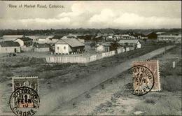 DAHOMEY - Carte Postale - Cotonou - View Of Market Road - L 53225 - Dahomey
