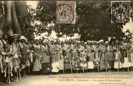 DAHOMEY - Carte Postale - Voyage Du Ministre Des Colonies à Abomey - L 53226 - Dahomey