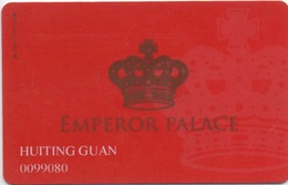 Carte De Membre Casino : Emperor Palace : Macau Macao - Cartes De Casino