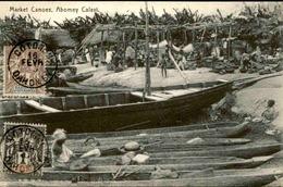 DAHOMEY - Carte Postale - Market Canoes At Abomey Calavi - L 53227 - Dahomey