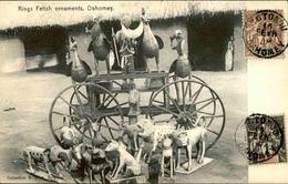 DAHOMEY - Carte Postale - Kings Fetish Ornaments - L 53228 - Dahomey