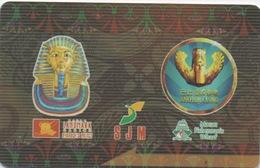 Carte De Membre Casino : SJM Pharaoh's & Babylon : Macau Macao - Cartes De Casino
