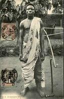 DAHOMEY - Carte Postale - Un Hamacaire - L 53229 - Dahomey