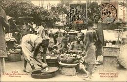 DAHOMEY - Carte Postale - Porto Novo , Le Marché - L 53230 - Dahomey