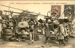 DAHOMEY - Carte Postale - Porto Novo , Vue Sur Le Marché - L 53232 - Dahomey