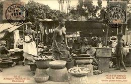DAHOMEY - Carte Postale - Porto Novo , Vue Sur Le Marché - L 53233 - Dahomey