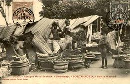 DAHOMEY - Carte Postale - Porto Novo , Vue Sur Le Marché - L 53234 - Dahomey