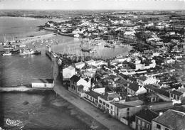¤¤  -   ILE-D'YEU   -  PORT-JOINVILLE  -  Vue Aérienne Sur Les Quais, Le Port - Dans Le Fond, Saint-Sauveur     -  ¤¤ - Ile D'Yeu
