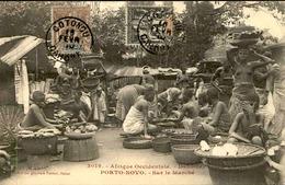 DAHOMEY - Carte Postale - Porto Novo - Sur Le Marché - L 53237 - Dahomey