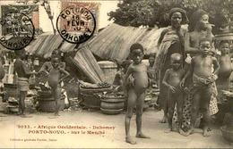 DAHOMEY - Carte Postale - Porto Novo - Sur Le Marché - L 53238 - Dahomey