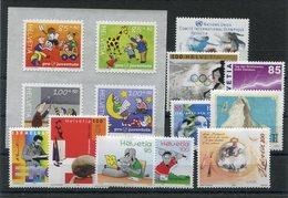 RC 15458 SUISSE EMIS EN 2004 / 2005 FACIALE SF 14,20 LOT NEUF ** MNH TB - Switzerland