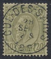 "émission 1884 - N°47 Obl Simple Cercle ""Cul-des-Sarts"" (Luxe) ! - 1884-1891 Leopold II"