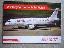 Avion / Airplane / TUNISAIR / Airbus A320 / Airline Issue - 1946-....: Era Moderna