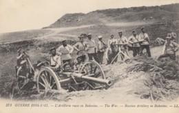 CPA - L'artillerie Russe En Bukovine ( Bucovine ) - Russie