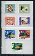 RC 15463 SUISSE EMIS EN 2005 / 2006 AUTOADHÉSIFS FACIALE SF 6,85 LOT NEUF ** MNH TB - Switzerland