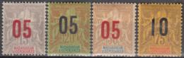 Du N° 111 Au N° 114 - X - ( C 942 ) - Madagascar (1889-1960)