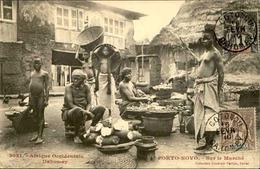 DAHOMEY - Carte Postale - Porto Novo - Sur Le Marché - L 53239 - Dahomey