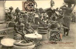 DAHOMEY - Carte Postale - Porto Novo - Sur Le Marché - L 53240 - Dahomey