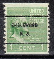 USA Precancel Vorausentwertung Preo, Bureau New Jersey, Englewood 839-61 - Vereinigte Staaten