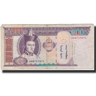 Billet, Mongolie, 100 Tugrik, 2014, KM:57, B+ - Mongolie