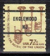 USA Precancel Vorausentwertung Preo, Bureau New Jersey, Englewood 1614-81, - Vereinigte Staaten
