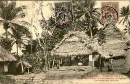 DAHOMEY - Carte Postale - Porto Novo - La Case Du Fétiche - L 53242 - Dahomey
