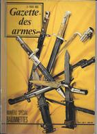 MILITARIA - GAZETTE DES ARMES Spécial Baionnettes 1974 - Guerra 1914-18