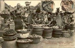 DAHOMEY - Carte Postale - Porto Novo - Sur Le Marché - L 53251 - Dahomey