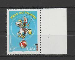 FRANCE / 2003 / Y&T N° 3546 ** : Fête Du Timbre (Lucky Luke 0.46€) De Feuille X 1 BdF - France