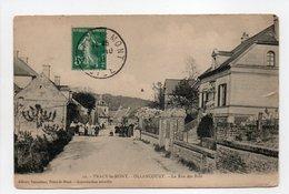 - CPA TRACY-LE-MONT (60) - OLLENCOURT - La Rue Des Bois 1910 (avec Personnages) - Edition Tonnellier N° 22 - - Francia